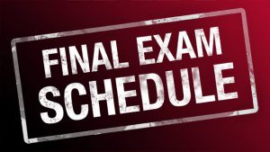 Exam Schedules
