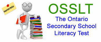 OSSLT Information April 10, 2018.