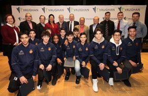 City of Vaughan recognizes Holy Cross' Junior Boys Soccer Team